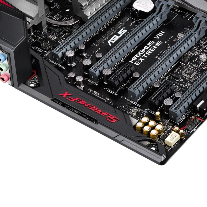Asus Maximus VIII Extreme Z170 socket 1151 HDMI DisplayPort 8-Channel HD Audio Extended ATX Motherboard