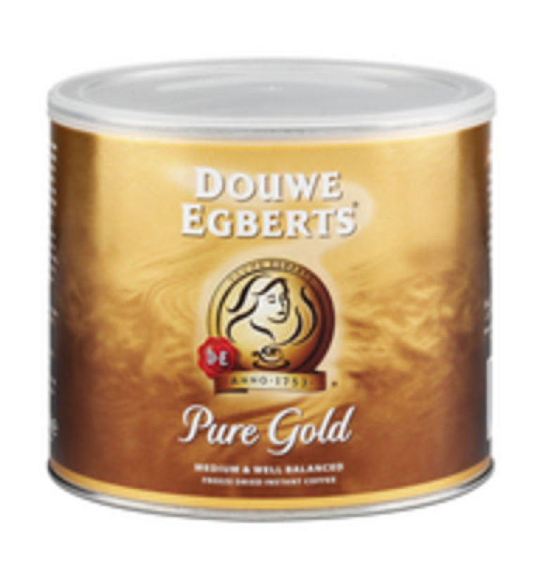 Image of Douwe Egberts Pure Gold Coffee - 500g