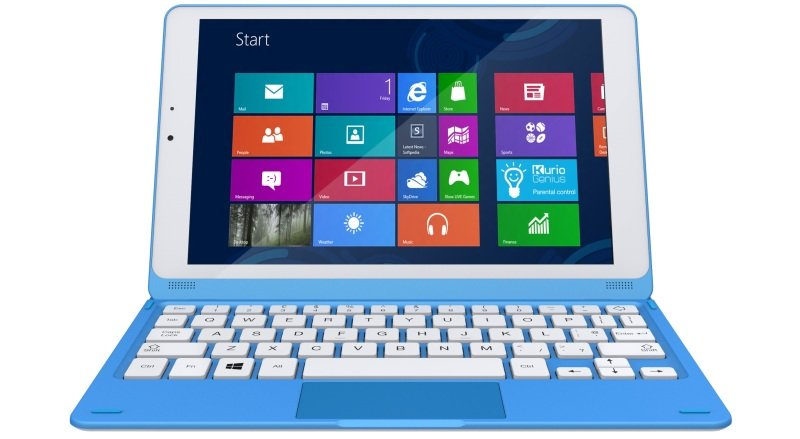 """Image of Kurio Student 8.9in Qc - 32gb Win 8.1 In - - Intel Atom Clover Trail+ Z2520 - 32GB - 8.9"""" IPS capacity touch screen - Wi-Fi, + Bluetooth - Windows"""