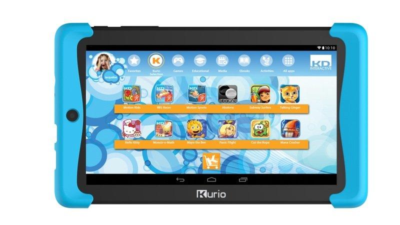 Kurio Tab 2 8GB Tablet - Black with a Blue Bumper