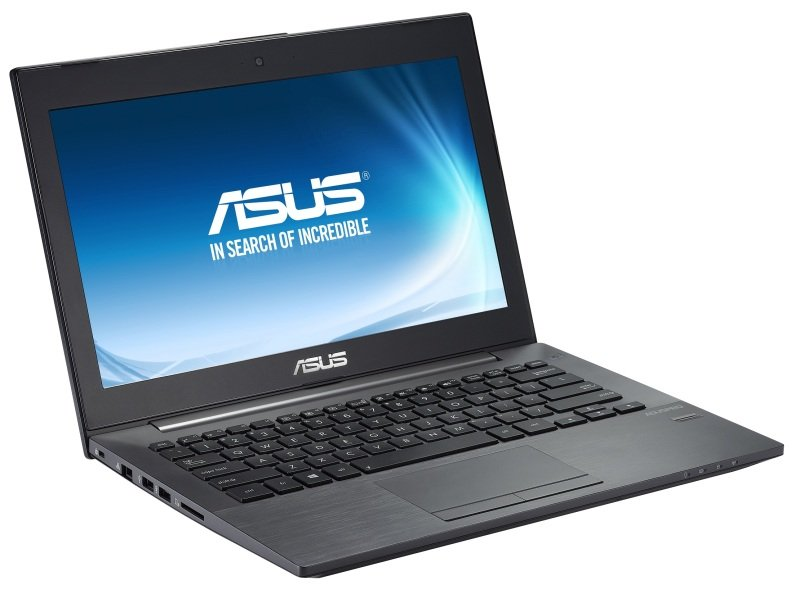 Image of ASUS Pro Essential PU301LA Laptop, Intel Core i5-4210U, 4GB RAM, 500GB HDD, 13.3 HD LED, No-DVD, FPR, Windows 8.1 Pro