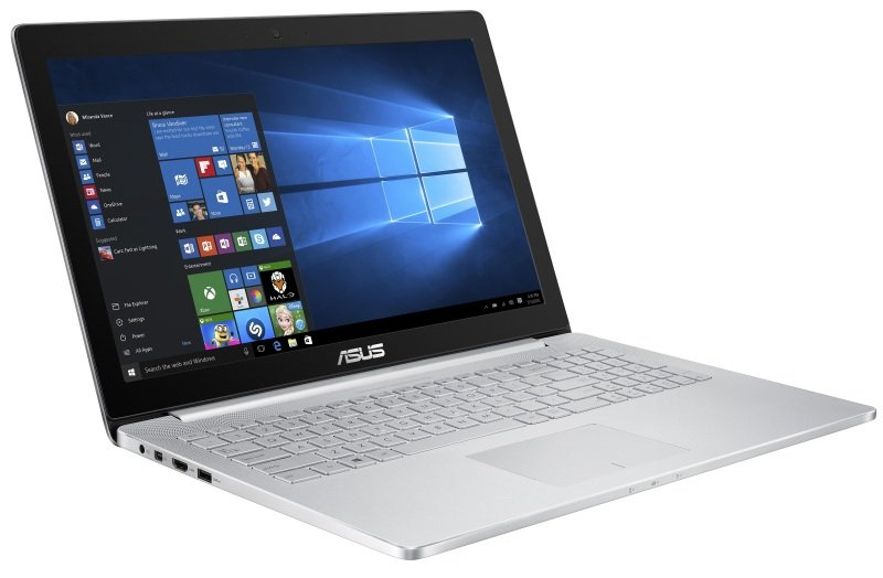 "Image of Asus Zenbook UX501JW Laptop, Intel Core i7-4750HQ 2GHz, 12GB RAM, 1TB HDD, 256GB SSD, 15.6"" FHD, No-DVD, NVIDIA GTX960M, Webcam, WIFI, Bluetooth, Windows 10 Home 64bit"
