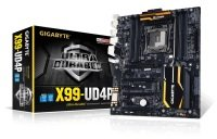 Gigabyte GA-X99-UD4P Socket LGA2011-3 7.1 Channel Audio ATX Motherboard