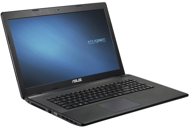 Image of ASUS Pro Essential P751JA Laptop, Intel Core i3-4000M 2.4GHz, 4GB RAM, 500GB HDD, 17.3 HD+ LED, DVDRW, Intel HD, Webcam, Bluetooth, Windows 8.1 Pro