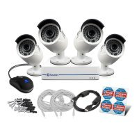 Swann NVR8-7285 8 Channel 4 Camera 1080P CCTV Kit Fitted With 1TB HardDrive