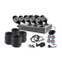 Swann DVR16-4400 16 Channel 8 Camera 720P CCTV Kit Fitted With 1TB HardDrive