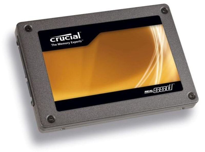 "Crucial 64GB Real SSD C300 2.5"" - SATA-III 6Gb/s  - Read 355MB/s Write 75MB/s"
