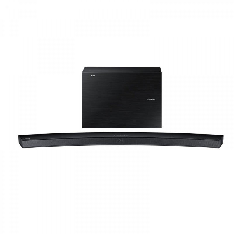 Image of Samsung Sound Bar Curved 300w 6.1ch 7 Inch Wireless Active Subwoofer Bluetooth - Black