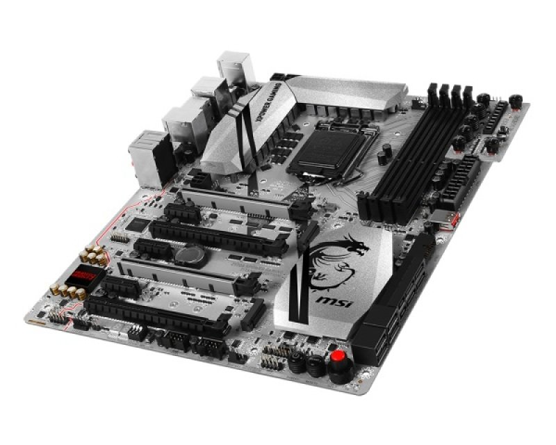 MSI Z170A Xpower Gaming Titanium Edition Socket LGA1151 HDMI DisplayPort 7.1-Channel HD Audio ATX Motherboard
