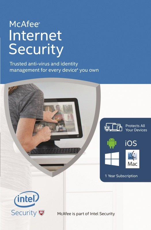 Image of Mcafee Internet Security 2016 - Electronic Software Download