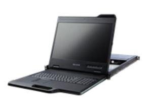 Belkin19 Widescreen LCD 1U RackConsole with 16Port PRO3 KVM