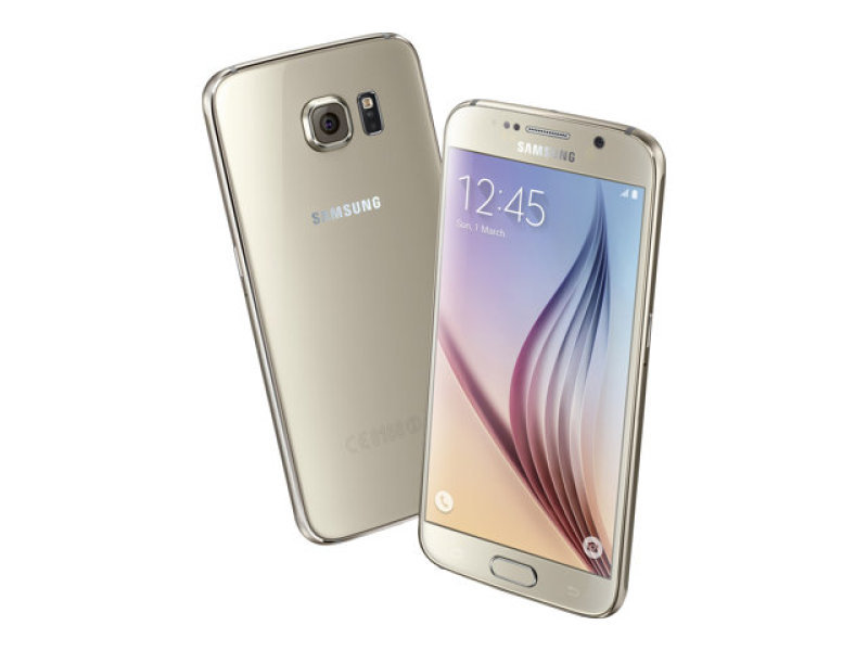 Samsung Galaxy S6 Flat 32GB Phone - Gold