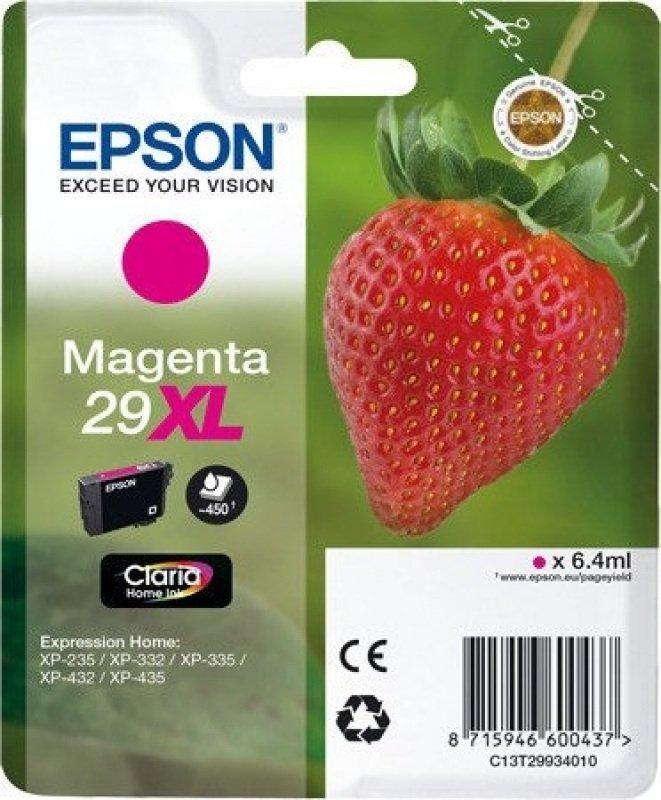 Epson Singlepack Magenta 29XL Claria Home Ink