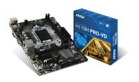 MSI H110M PRO-VD Socket LGA 1151 VGA DVI-D 8-channel HD Audio Motherboard