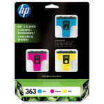 *HP 363 Colour Ink Cartridges - CB333EE