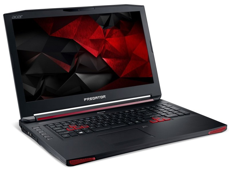 "Image of Acer G9-791 Predator Gaming Laptop, Intel Core i7-6700HQ 16GB RAM 1TB HDD 128GB SSD, 17.3"" FHD, Blu-Ray, NVIDIA GTX 980M, Windows 10"
