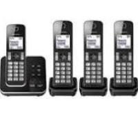 Panasonic KX-TGD324EB Quad Cordless Dect Phone