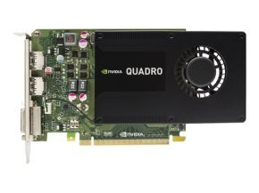 NVIDIA Quadro K2200 4 GB GDDR5 Dual-Link DVI 2x Displayport PCI-E Graphics card