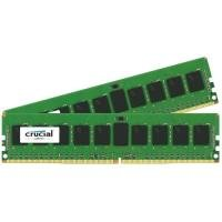 Crucial 32GB Kit (16GBx2) DDR4 2133 MT/s (PC4-17000) CL15 DR x8 Unbuffered DIMM 288pin