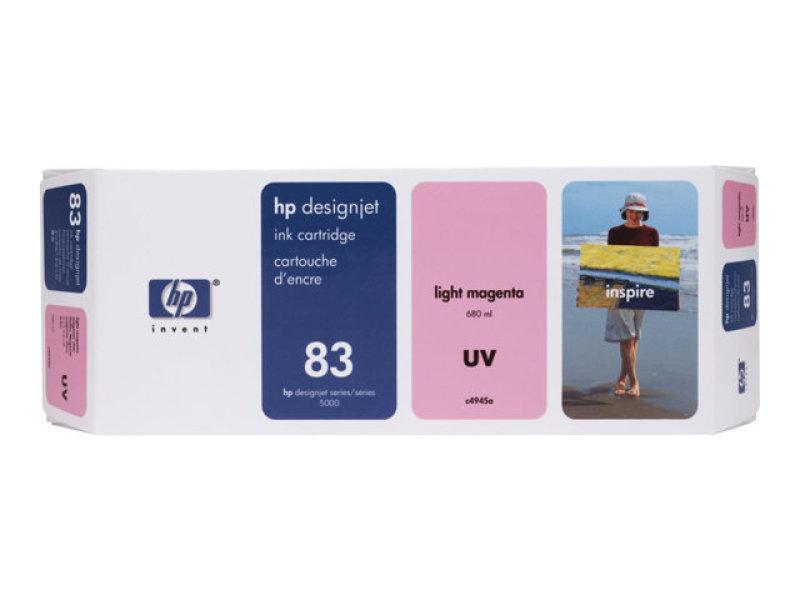 HP 83 680ml UV Light Magenta Ink Cartridge
