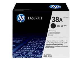 HP 38A Black Toner Cartridge 12,000 Pages - Q1338A