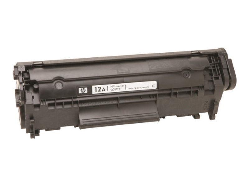 HP 12A Black Toner Cartridge - Q2612A