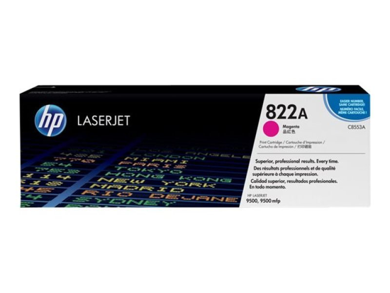 HP C8553A Magenta Toner Cartridge 25,000 Pages