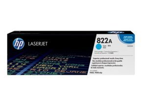 HP 822A Cyan Toner Cartridge 25,000 Pages - C8551A