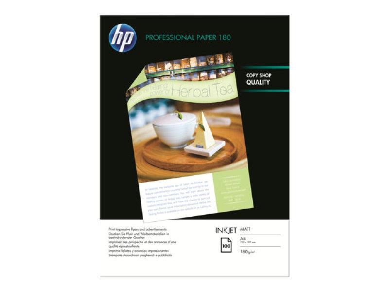 Hp Professional A4 180gsm Matt Inkjet Brochure And Flyer