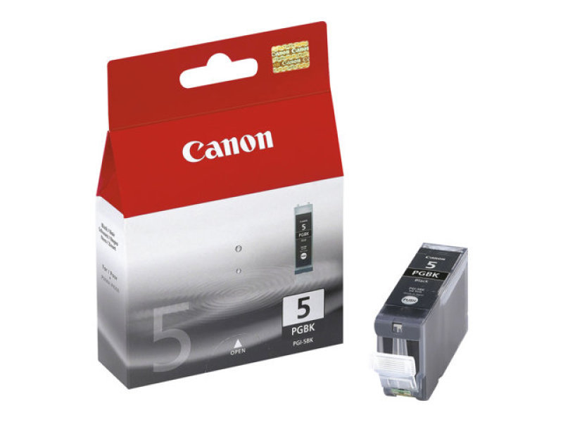 Canon PGI 5BK Pigmented Black Ink Cartridge