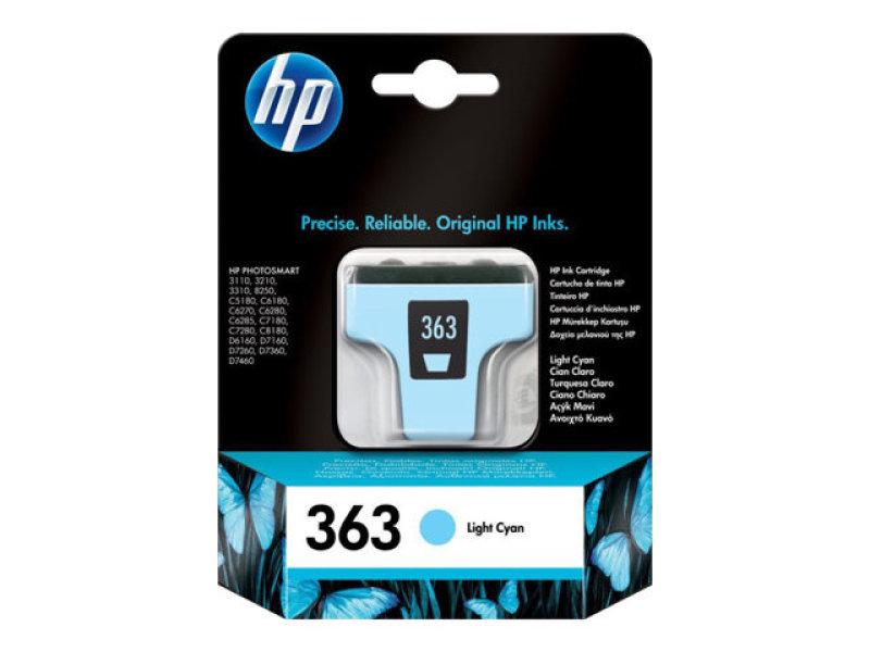 *HP 363 Light Cyan Ink Cartridge - C8774EE