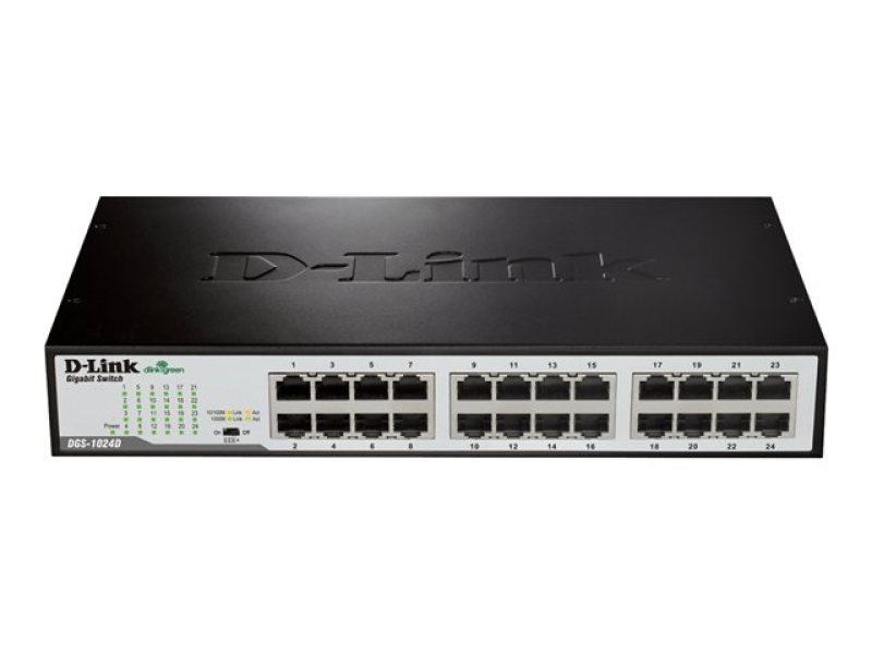 D-Link DGS-1024D - Green Ethernet Gigabit Switch
