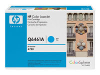 HP 644A Cyan Toner Cartridge 12,000 Pages - Q6461A