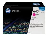 HP 643A Magenta Toner Cartridge 10,000 Pages - Q5953A