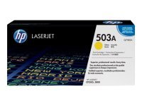 HP 503A Yellow Toner Cartridge 6000 Pages - Q7582A