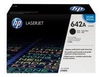 HP 642A Black Toner Cartridge - CB400A