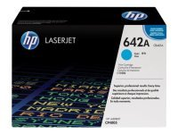 HP 642A Cyan Toner Cartridge 7500 Pages - CB401A
