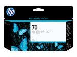 HP 70 Light Grey OriginalInk Cartridge - Standard Yield 130ml - C9451A