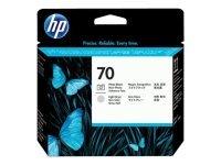 HP 70 Light Grey and Photo Black Printhead - C9407A