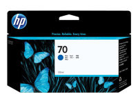 HP 70 Blue Original Ink Cartridge - Standard Yield 130ml - C9458A