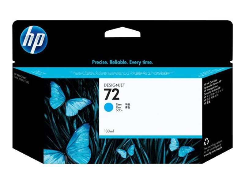 *HP 72 130ml Cyan Ink Cartridge - C9371A
