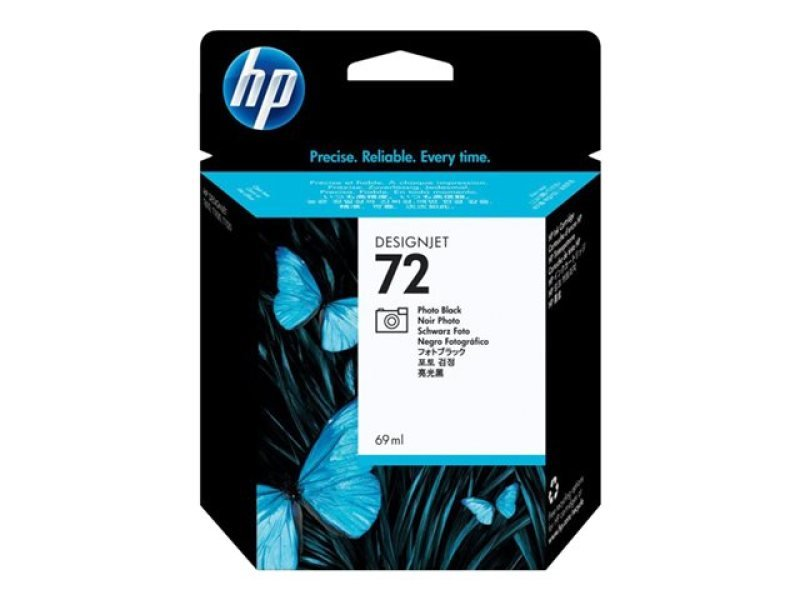 *HP 72 69ml Photo Black Ink Cartridge with Vivera Ink - C9397A