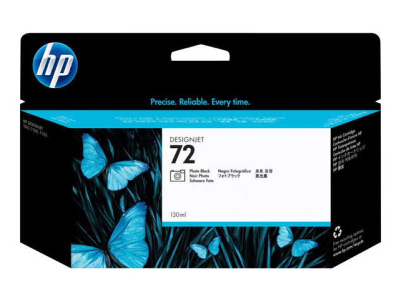 HP 72 130ml Photo Black Ink Cartridge - C9370A