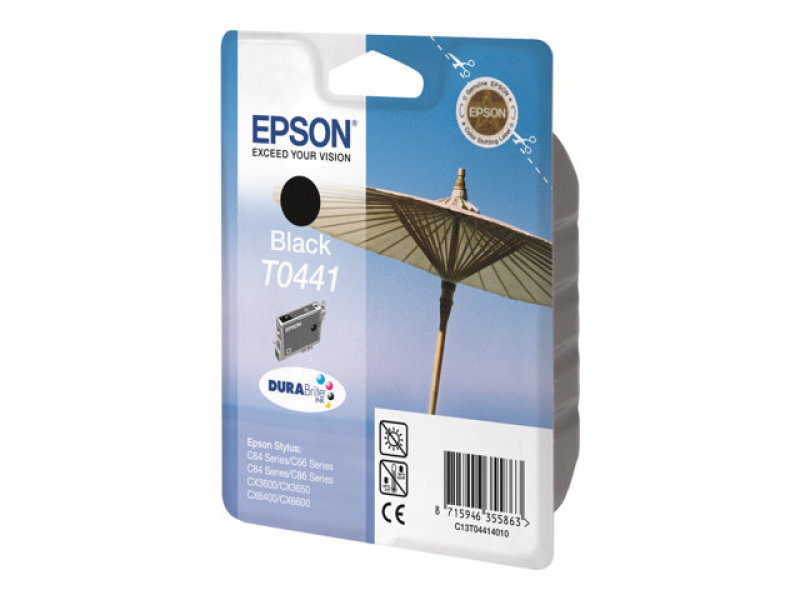 Epson T0441 13ml Black Ink Cartridge 600 Pages
