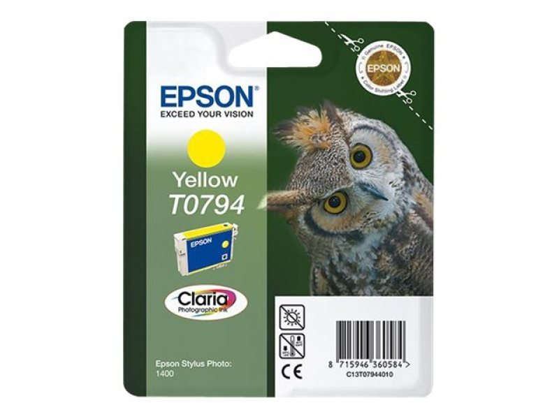 *Epson T0794 Yellow Ink Cartridge