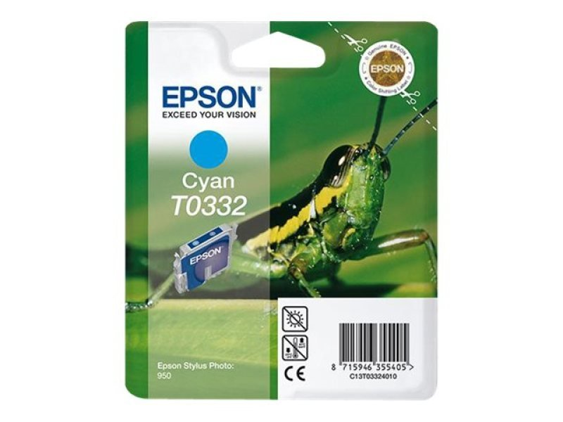 Epson T0332 17ml Cyan Ink Cartridge 440 Pages