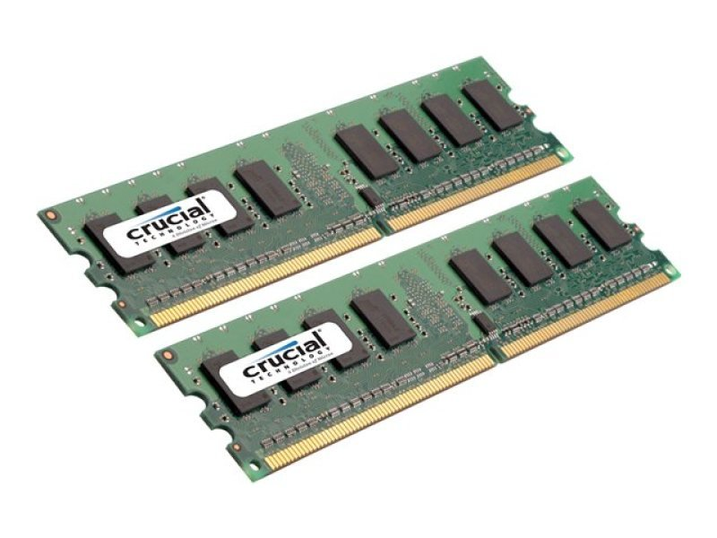 Crucial 2GB DDR2 800MHz Memory