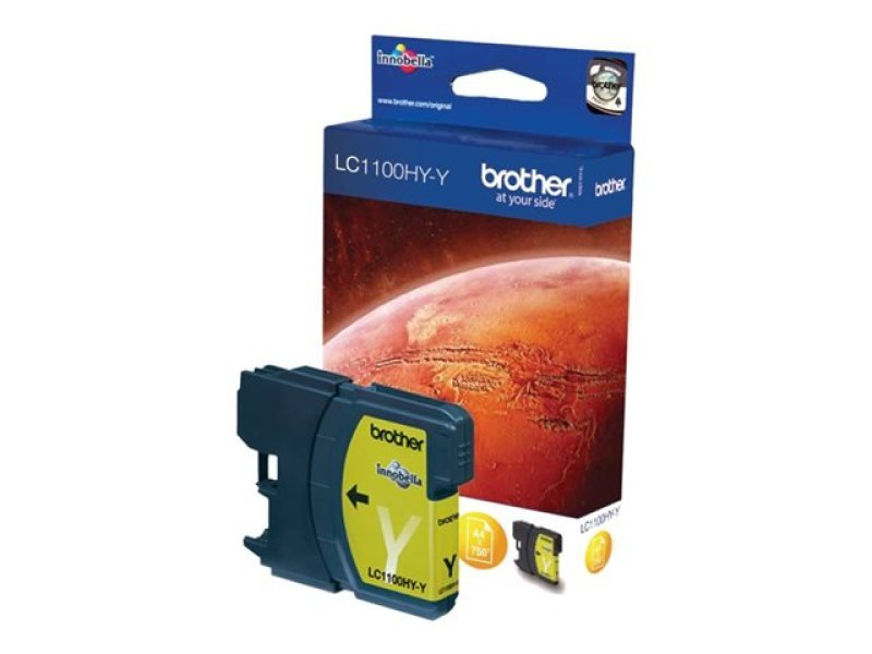 Brother LC1100HYY High Yield Yellow Ink Cartridge