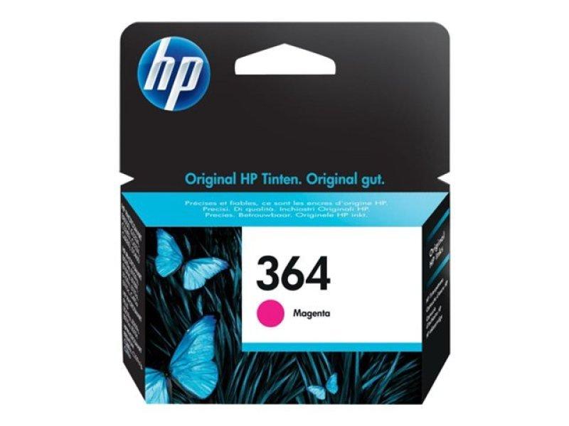 HP 364 Magenta Ink Cartridge - CB319EE