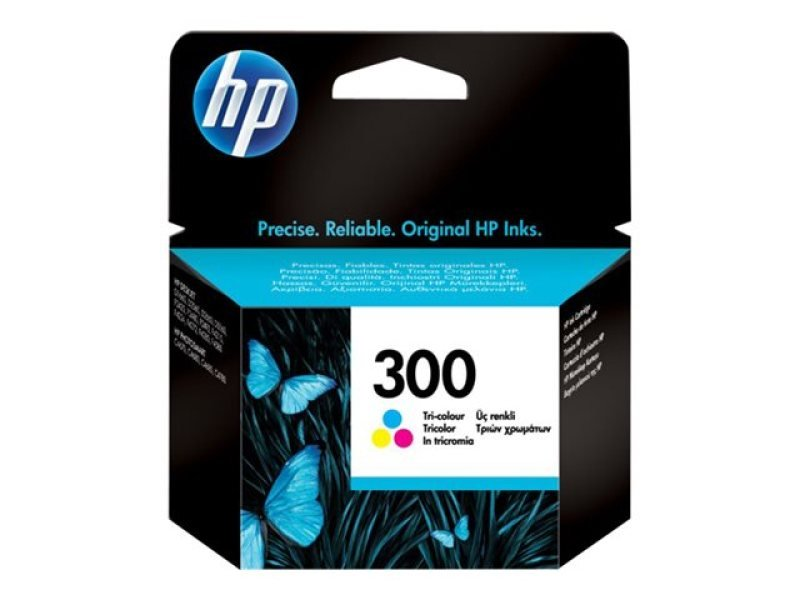 *HP 300 Colour Ink Cartridge - CC643EE